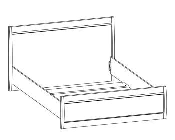 Кровать Cseno (160х200)