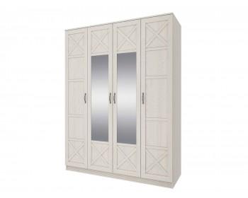 Шкаф 4-х дверный с зеркалом Лозанна