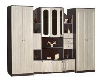 Стенка Макарена МДФ с двумя шкафами