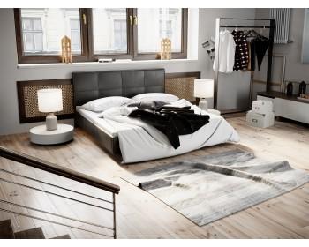 Кровать c мягкой обивкой Элис (160х200)