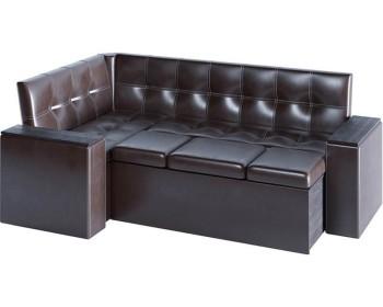 Кухонный диван Остин Браун угловой