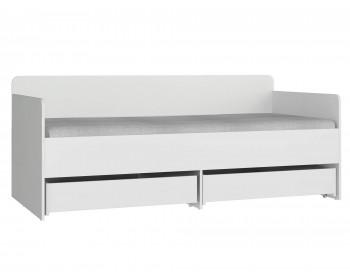 Кровать с мягким элементом Модерн - Абрис (90х190)