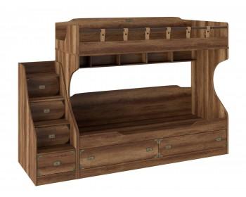 Кровать двухъярусная с приставной лестницей Навигатор (80х200)