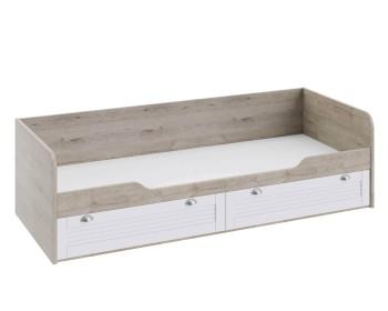 Кровать с 2 ящиками Ривьера (80х200)