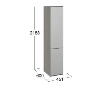 Шкаф для белья с 1 зеркальной дверью ЛКП Либерти