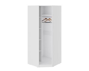 Шкаф угловой со стеклянной дверью Глосс