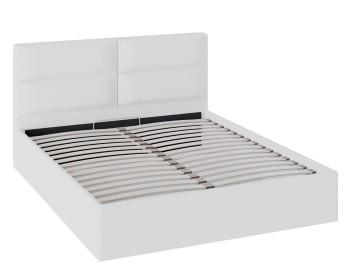 Кровать с мягкой обивкой и ПМ Глосс (160х200)