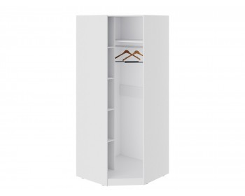 Шкаф угловой с зеркальной дверью Глосс