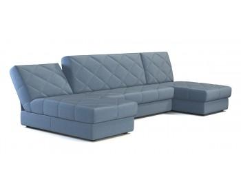 Диван угловой П-образный Баден NEXT 369 угловой Синий