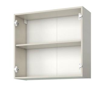Шкаф-витрина двухдверный Аура 80 см