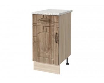 Шкаф напольный Камила тёмная 40 см