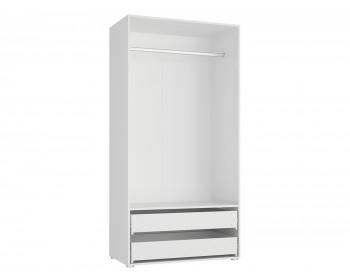 Шкаф 2-х дверный с ящиками Модерн Квадро