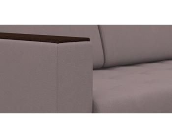 Диван прямой Атланта NEXT со столиком 255 прямой Капучино