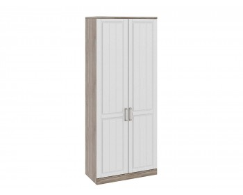 Шкаф для одежды с 2-мя глухими дверями Прованс