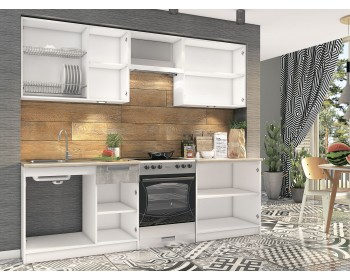 Кухонный гарнитур Денвер 2,4 м