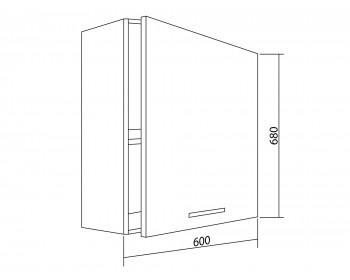 Шкаф навесной Lima 60 см