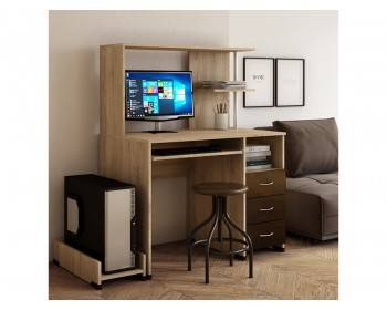 Компьютерный стол Мартин Глянец-7