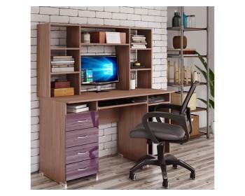 Компьютерный стол Милан Глянец-14