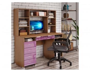 Компьютерный стол Милан Глянец-15