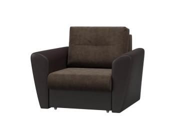 Кресло-кровать Берг Плюш Шоколад Венге