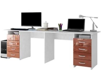 Письменный стол Тандем-3 Глянец 4-3