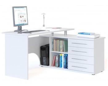 Письменный стол Сноу угол справа