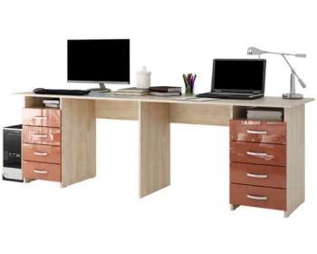 Письменный стол Тандем-3 Глянец 1-3