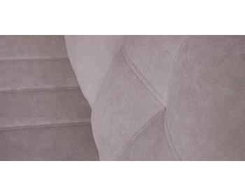 Кушетка Корфу NEXT 147 прямая Песочно-серый