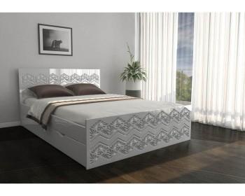 Кровать Глянец Премиум 43