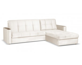 Угловой диван Бергамо NEXT 155 с оттоманкой макси