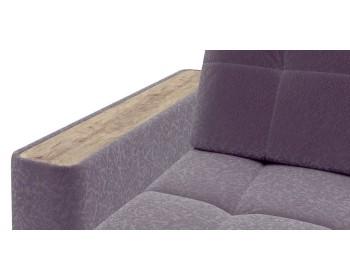 Диван угловой Сидней 155 с оттоманкой min декор дуб каньон 278 угловой Фиолетовый