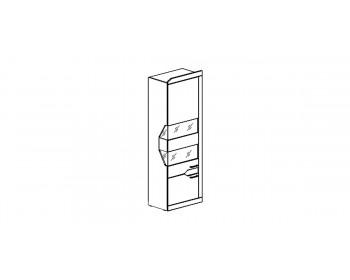 Шкаф-витрина РОНДА 301