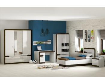 Шкаф для одежды РОНДА с зеркалом 310