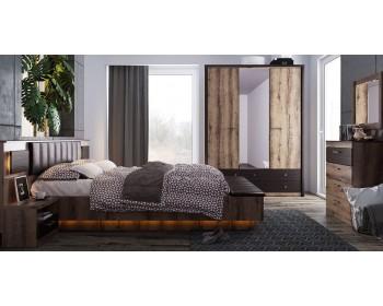 Кровать JAGGER 160 с мягким изголовьем